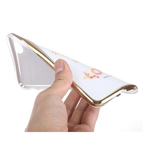 Phone case & Hülle Für IPhone 6 / 6s, Galvanische Blumen JUST Pattern TPU Schutzhülle ( SKU : S-IP6G-0858A ) S-IP6G-0858D