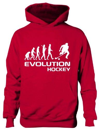 Evolution Hockey ~~Kinder/Jungen/Mädchen Hoodie, In 6 Farben, Alter 5-15