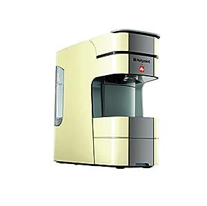 HOTPOINT Espresso Coffee Machine, 1250 W, 19 Bar, Creme