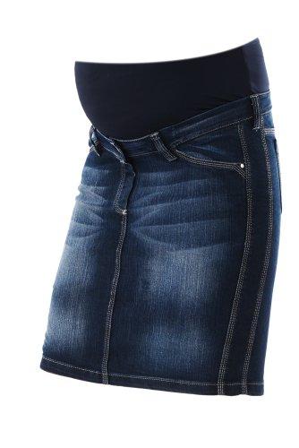 Umstandsmode femininer stylischer Jeansrock Gotha Umstandsmode Christoff , 48 (Baumwolle Five-pocket-cordhose Im)