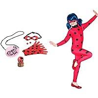 Pack Bandai - Set Marinette et Ladybug et TF1 Licences - Déguisement Ladybug  Miraculous - Costume 4a69a3dd4d3