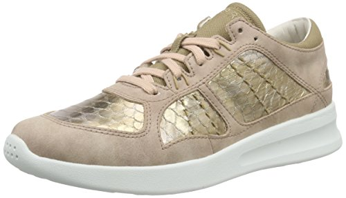 esprit-lune-lace-up-sneakers-basses-femme-rose-pink-675-dark-old-pink-38