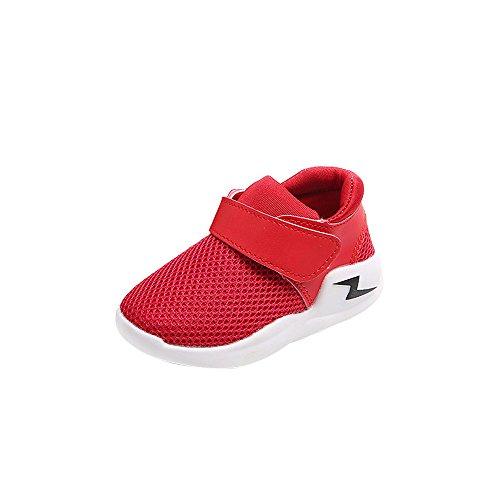 UFODB Sneakers Jungen Kinder Sneaker Leicht Fitness Outdoor Klettverschluss Traillaufschuhe Low-Top Hallenschuhe Laufschuhe Sportschuhe Freizeit (Top 5 Kostüm Für Haustiere)