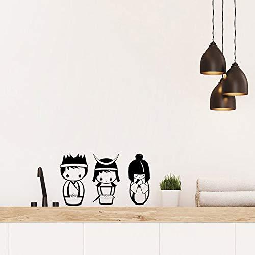 Wandaufkleber Kinderzimmer Applique Wohnzimmer Schlafzimmer Dekoration Vinyl Diy Wallpaper58x19cm ()