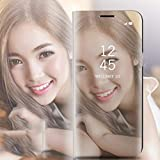 fgjhfghfjghj Newest Electroplated Smart Mirror Stand Case Mobile Phone Shell Flip Cover Sleep Smartphone Decoration