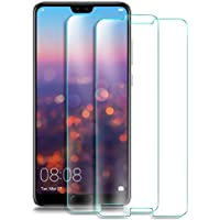 [2 Pack] Huawei P20 Protector de Pantalla, Electro-Weideworld Cristal Vidrio Templado Premium HD Film Protector de Pantalla Screen Protector Para Huawei P20,[9H Dureza],Transparente