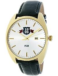 RADIANT Reloj analógico de caballero F.C.BARCELONA - Correa de piel -  Dorado - BA- 499256068d7