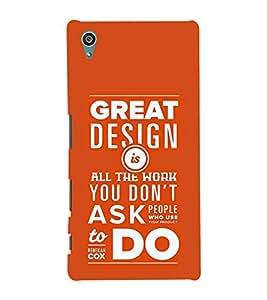 EPICCASE Great Design Mobile Back Case Cover For Sony Xperia Z5 (Designer Case)