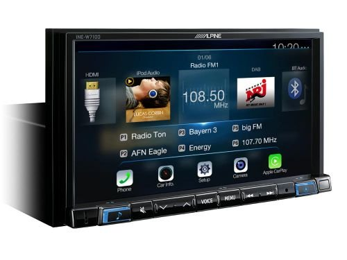 Alpine INE-W710D - 2DIN Navigation (Igo-software)