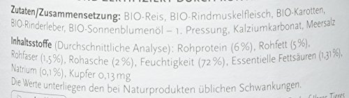 Biopur Bio Diätfutter Leber-Erkrankungen 400g, 6er Pack (6 x 400 g) - 3