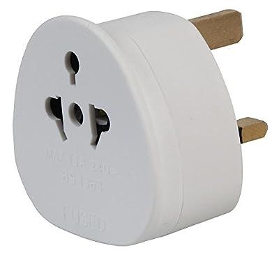 auna eu adapter European to UK Adapter EU to UK Plug Adaptor