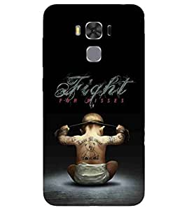 Asus Zenfone 3s Max ZC521TL teddy Printed Cell Phone Cases, fight Mobile Phone Cases ( Cell Phone Accessories ), kids Designer Art Pouch Pouches Covers, gym Customized Cases & Covers, motivational Smart Phone Covers , Phone Back Case Covers By Cover Dunia