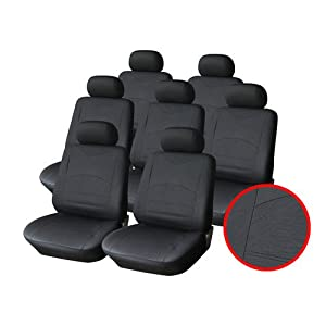 sitzbez ge auto universal leder deine auto. Black Bedroom Furniture Sets. Home Design Ideas