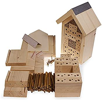 Yakeba | Insektenhotel Bausatz | Made in Germany | zertifiziertes Holz