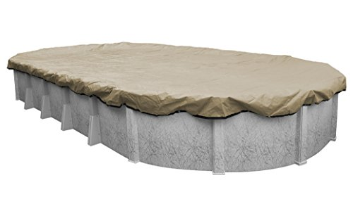 Robelle 311632-4 Premium Winter Pool Cover for Oval Above Ground Swimming Pools, 16 x 32-ft. Oval Pool