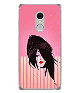 PrintVisa Designer Back Case Cover for Xiaomi Redmi Note 4 (2017 Edition) (Love Lovely Attitude Men Man Manly)