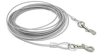 Berry ? Câble laisse résistante pour chien et autres animaux de compagnie petit et moyen 3 m/5 m/10 m.