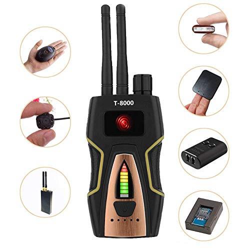 eoqo Detector de Señal RF Detector de GPS Detector Cámaras Ocultas Detector Microfonos Ocultos Detector de Microsensor Buscador de Dispositivos gsm Buscador de Dispositivos de Radio Radar