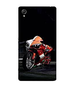 99Sublimation Designer Back Case Cover for Sony Xperia Z5 :: Sony Xperia Z5 Dual 23MP (rider highway speed helmet saftey)