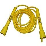 Proam Ampro einstellbar Seilspringen Speed Rope - 10ft, Gelb