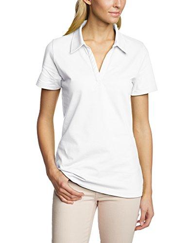 Trigema Damen 521612 Poloshirt, (Weiß 001), 52 -