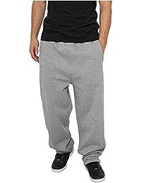 Urban Classics Sweatpants Streetwear Pantalón chándal Hombre, gris, XXL