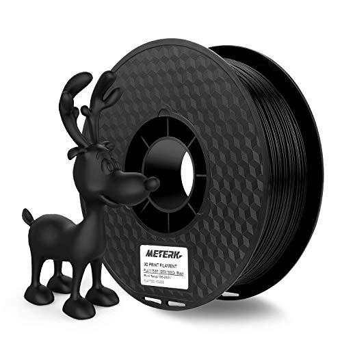 Filamento de la impresora 3D, Meterk Filaments for 3D Printer Material de impresión ABS PLA 1kg/2.2LBS 3D Printing Filament Cable de impresión 3D 1.75 mm 1 kg