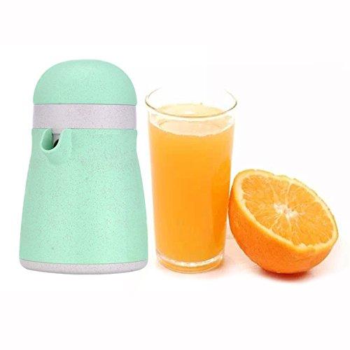 OFKPO Exprimidor Manual Portátil, 2 en 1 sin BPA Manual Exprimidor Fruta Prensa para Limón Naranja...