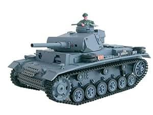 Chars d'assault RC électriques 1/16 Panzerkampfwagen III (3848)