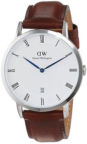 Daniel Wellington Dapper Analog White Dial Men's Watch-DW00100087 image