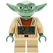 LEGO Star Wars - Reloj despertador con figura Yoda, multicolor (9003080)