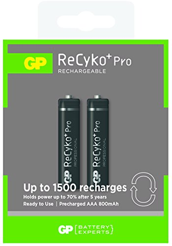 ReCyko+ Akku AAA 800mAh ready2use (Micro, HR 03, NiMH, 1,2V, 2er Pack)