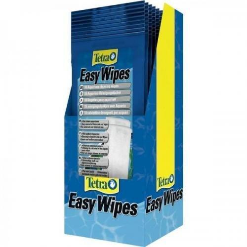 Tetratec Easy Wipes, 10 St., Filterkatuschen, Reinigungstücher für Aquarium