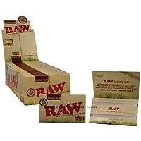 Cartine Raw Organic Hemp Single Wide Corte Canapa Biologica -