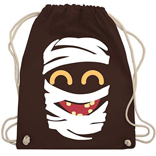 Karneval & Fasching - Mumie Karneval Kostüm - Unisize - Braun - WM110 - Turnbeutel & Gym Bag (Für Männer Mumie Kostüme)