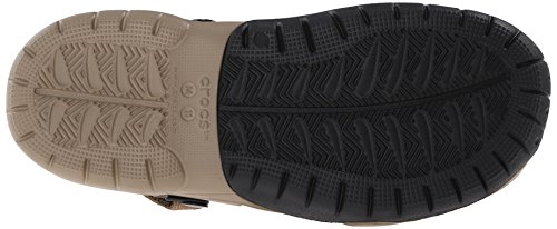 Crocs Swiftwater Clog, Sabots Homme Marron (Khaki/Black)