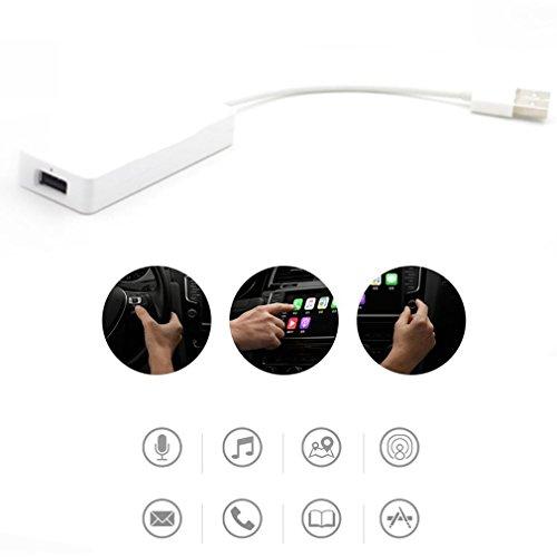 Intelligente USB Dongle Carplay velocità veloce per Android iOS Mini USB Carplay Stick (Colore: bianco)
