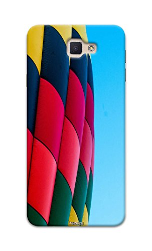 Picwik Designer Printed Back Cover / Hard Case for Samsung Galaxy On7 2016 (Hot air balloon Design/Colourful) - Multicolor - D286  available at amazon for Rs.259