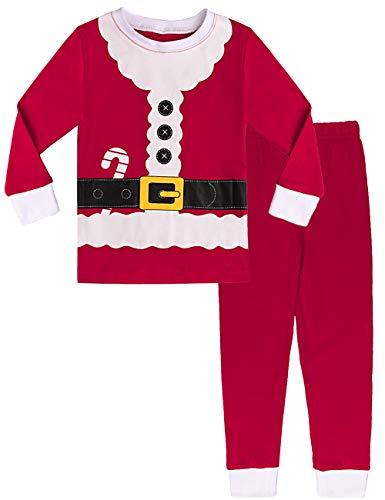 MOMBEBE COSLAND Pijama Papá Noel Niño Manga Larga