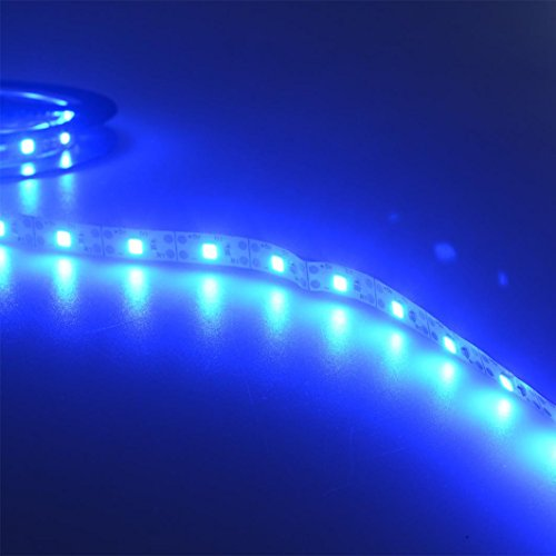 Covermason 5V 2835 30SMD / 50CM Weiß/Warmweiß/Blau LED Strip Leiste Streifen Band Lichter Light Bar Fernseher Zurück Beleuchtung (Blau) - Blaue Led-leiste
