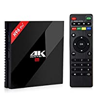 Upgraded H96 Pro, 2/16 GB, Android 7, Kodi 17, Terrarium TV, ShowBox HD, Shahid, Newest 3D Movies, Movie HD and more