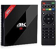 Upgraded H96 Pro, 2/16 GB, Android 7, Kodi 17, Terrarium TV, ShowBox HD, Shahid, Newest 3D Movies, Movie HD an