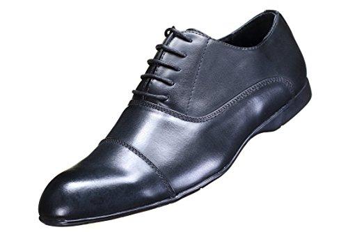 Reservoir Shoes - Chaussure Derbies Farel Black Noir