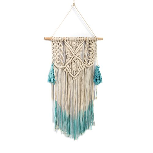 VORCOOL Macramé tapiz colgante de pared Boho percha de la boda Dream