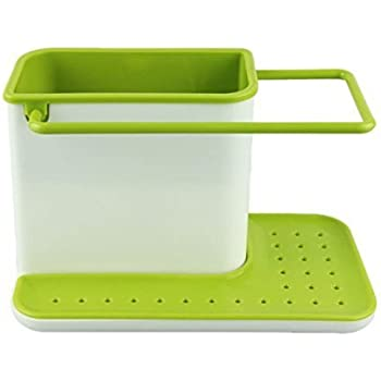 Lifestyle-You™ 3 in 1 Stand for Kitchen Sink for Dishwasher Liquid, Brush, Sponge etc.