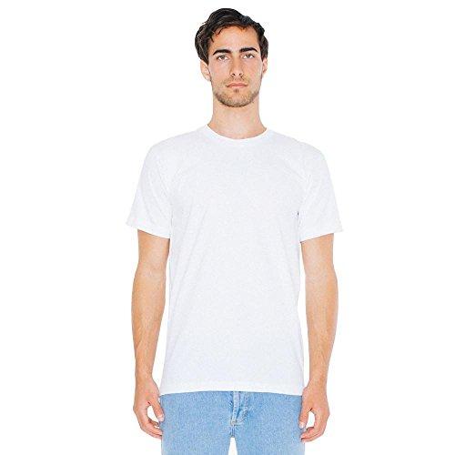 American Apparel - Unisex Fine Jersey T-Shirt White