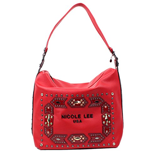 Nicole Lee, Borsa a spalla donna Red