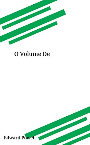 O Volume De (Galician Edition)