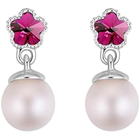 ZPL orecchini moda femminile di cristallo Swarovski Elements , 3