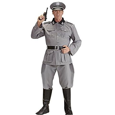 Costume homme soldat allemand Déguisement soldat Seconde Guerre mondiale XL